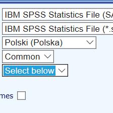 <p><strong>Eksport wyników</strong></p>Eksport wyników badania do postaci zbioru danych